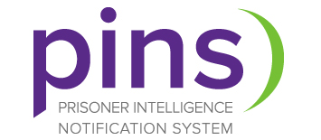 PINS, Prisoner Intelligence Notification System logo